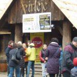 Protest przeciwko linii 400 kV Kozienice-Ołtarzew