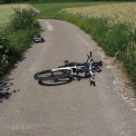 Dwa wypadki rowerowe. Jeden śmiertelny
