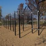 Podwórko Nivea i street workout w Eko Parku
