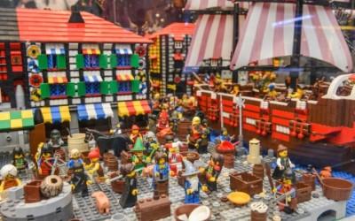 Największa wystawa budowli z klocków Lego w Warszawie