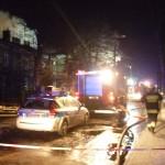 Pożar w kamienicy w Pruszkowie. Część budynku zawalona [FOTO]