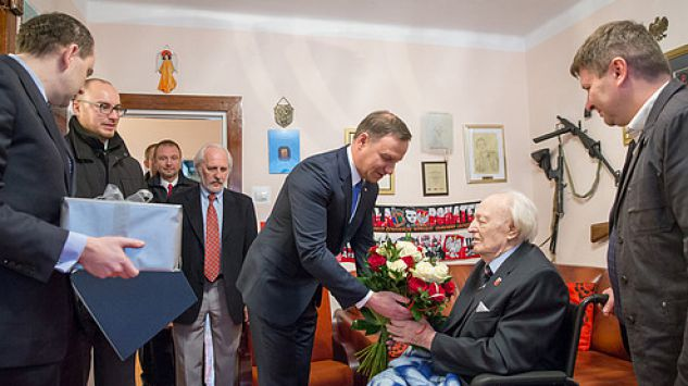 Prezydent Duda w Milanówku