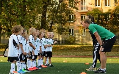 Piłkarskie przedszkole Legia Mszczonów