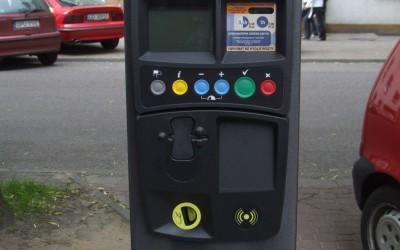 strefa płatnego parkowania w Żyrardowie