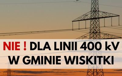 Protest Żyrardowa i Wiskitek przeciwko linii 400 kV