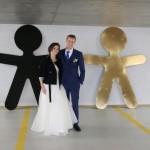 Ślub wzięli na…parkingu [FOTO]