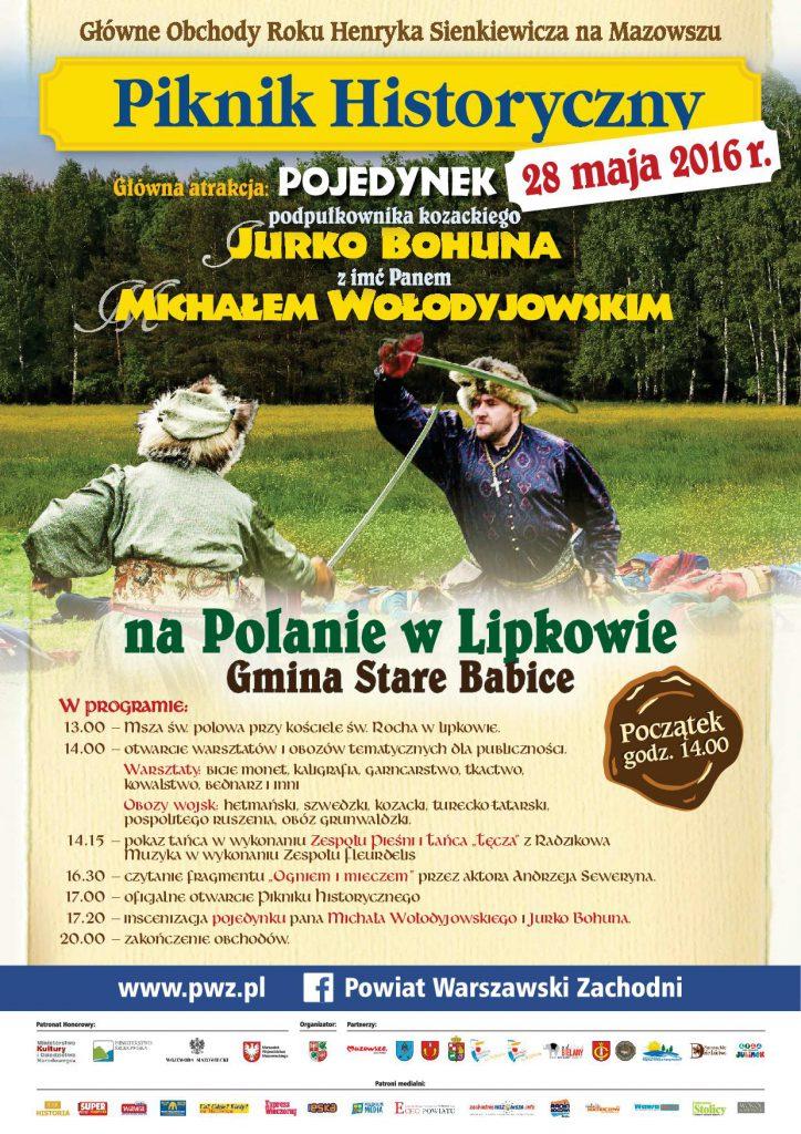 Piknik historyczny w Lipkowie