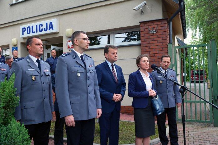 Posterunki policji Kampinos Leszno