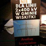 Linia 400 kV. Wiskitki znów zablokują drogę