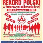 Bijemy rekord Polski w oddawaniu krwi! Wielki Piknik Krwiodawstwa w Ożarowie
