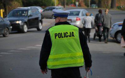 wypadek motocyklista ul. Żyrardowska, Grodzisk