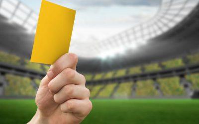 żółte kartki za brak opłaty parkingowej