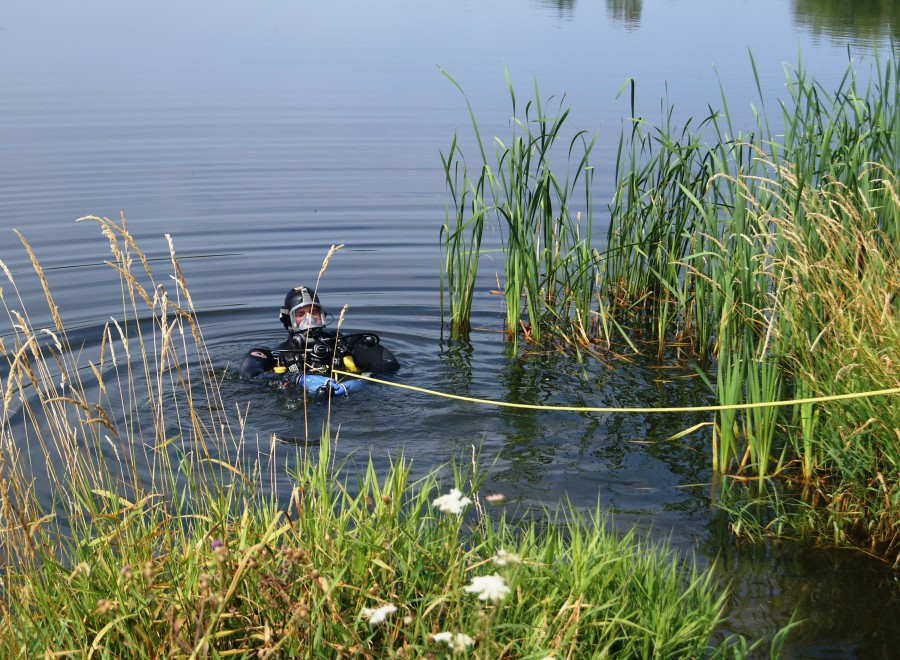Utonął w Zalewie Żyrardowskim