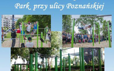 plac street workout Ożarów Mazowiecki otwarcie