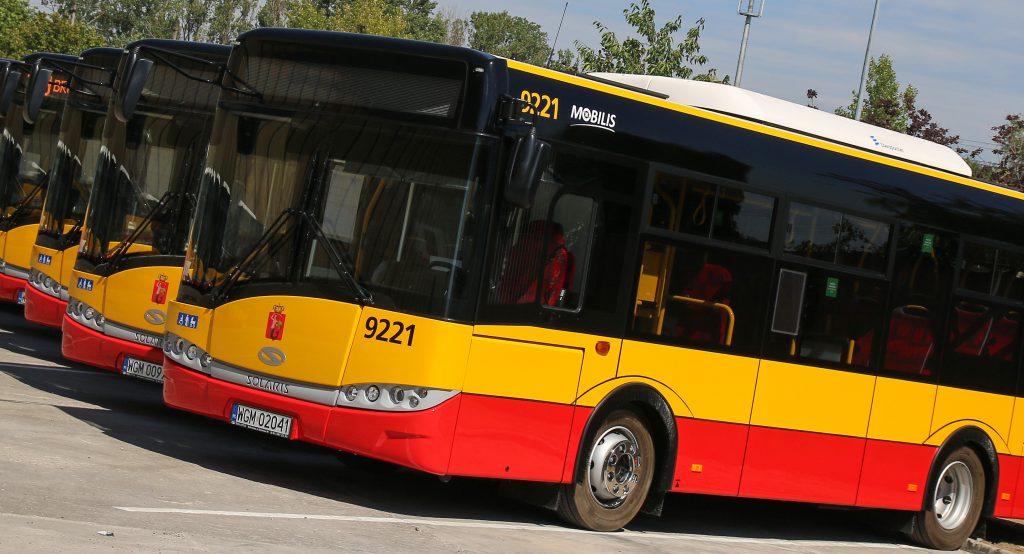 nowe autobusy Warszawa
