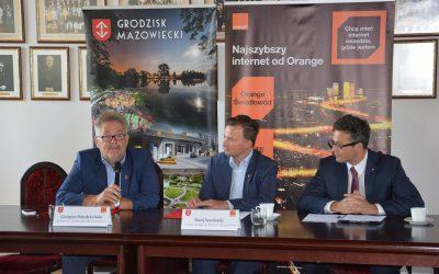 Żyrardów Grodzisk Mazowiecki Orange porozumienie szybki internet
