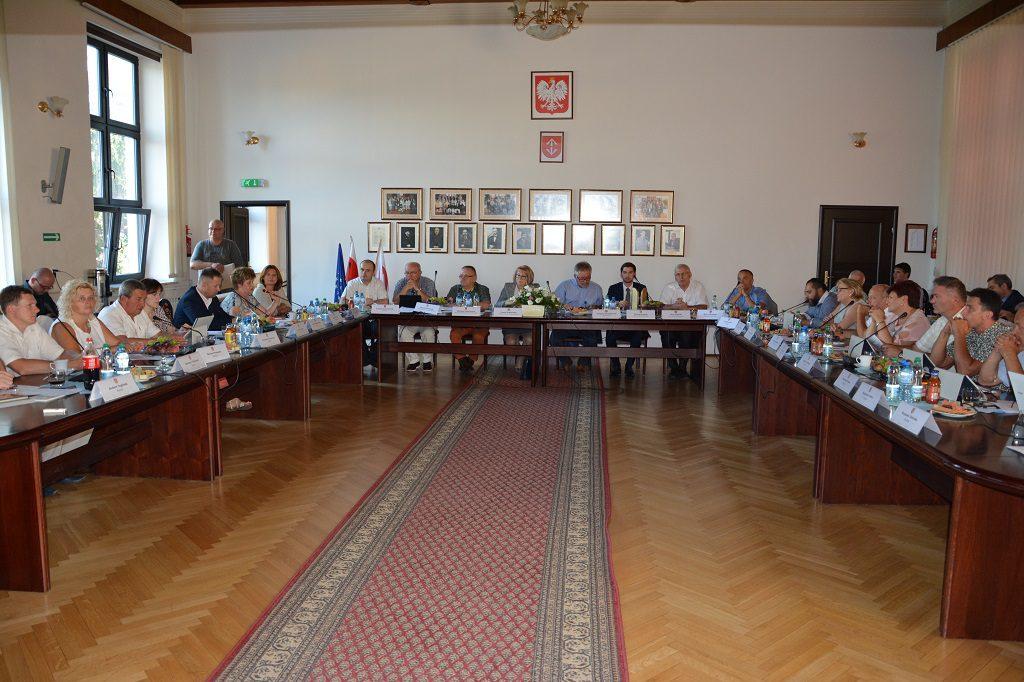 stanowisko Rada Miejska Grodzisk Mazowiecki linia 400 kV sierpień 2016