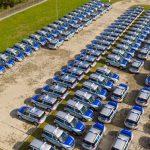 Nowe samochody dla mazowieckiej policji. Skoda, opel i kia ceed [FOTO, WIDEO]