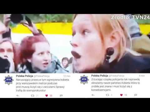 zniewazenie-policjanta-czarny-protest