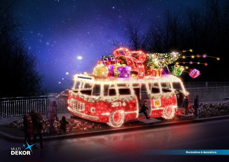 Niesamowite Iluminacje świąteczne W Warszawie Koszt 65
