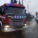 Kolejne podpalenia w powiecie warszawskim zachodnim? Spłonęły tiry w Zielonkach i przyczepa kempingowa w Lesznie