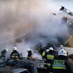 Po wybuchu w Łomiankach: śledczy pracują, mieszkańcy organizują pomoc dla poszkodowanych