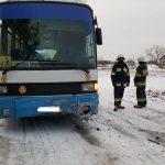 Wypadek szkolnego autokaru [FOTO]