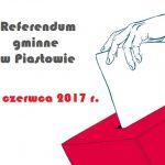 Referendum w Piastowie 11 czerwca