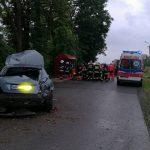 Dwa wypadki w okolicach Ożarowa. Cztery osoby ranne, w tym dziecko [FOTO]