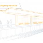 W Parzniewie powstanie nowy przystanek kolejowy. Jak będzie wyglądał?