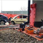 Śmiertelny wypadek w Łomiankach [FOTO]