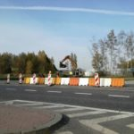 Rondo w Wiskitkach już przejezdne. Trwa przebudowa skrzyżowań w Mszczonowie