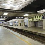 Pożar na dworcu Warszawa Śródmieście. Wstrzymany ruch pociągów