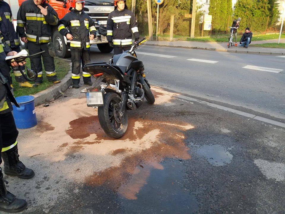 wypadek-blonie-motocykl