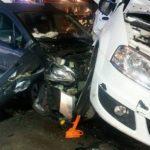 Cztery osoby ranne w wypadku w Białutach [FOTO]