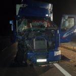 Trzy wypadki na autostradzie. Zderzenie dwóch ciężarówek, dwóch osobówek i rządowej limuzyny