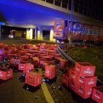 Cztery wypadki w ciągu trzech dni na drodze S8. Ciężarówki przewróciły się na bok
