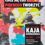 Spotkanie z młodą poetką Kają Kowalewską w grodziskiej bibliotece