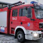 Pożar w Strzeniówce