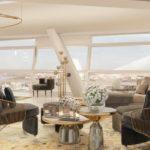 Niesamowity penthouse w wieżowcu Złota 44 na sprzedaż
