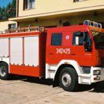 Pożar w pasiece koło Żabiej Woli