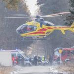 Kolejny wypadek pod Puszczą Mariańską. Trzy osoby ranne