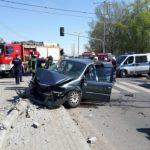 Koszmarny wypadek w Pruszkowie. Cztery osoby ranne