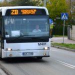 Zderzenie autobusu komunikacji zastępczej w Pruszkowie