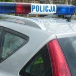 Pościg i szarpanina z policjantami w Łomiankach