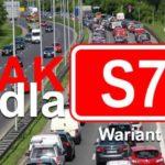 Blokady drogi pomogły? Jest decyzja środowiskowa dla trasy S7! [MAPA]