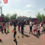 Dzień otwarty w Ochotniczej Straży Pożarnej w Brwinowie. Zwiedzanie, grochówka i konkursy