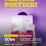 Kolejny meeting poetycki w Grodzisku Mazowieckim