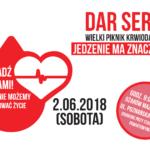 Dar serca – Wielki Piknik Krwiodawstwa po raz trzeci w Ożarowie Mazowieckim!