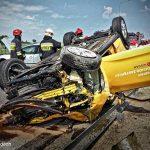 Tragiczny weekend w regionie: wypadki w Walendowie, Wypędach i Żabiej Woli. Nie żyje motocyklista, trzy osoby ranne